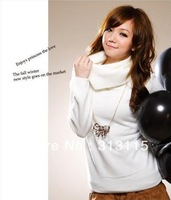 fast delivery wholesale(2pcs/lot) fashion style women sweaters 2012 YF-WS01