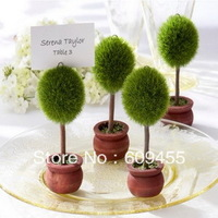 FREE SHIPPING+Topiary Photo Holder/Place Card Holder +100pcs/LOT+Very Good For Wedding Favors