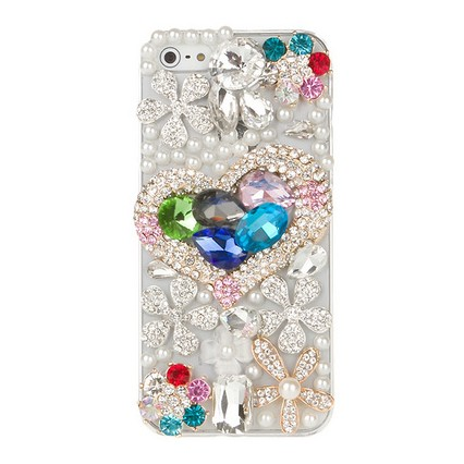 Mirror shell case for iphone4 4s case diamond cell protection shell protective sleeve phone sets wholesale custom(China (Mainland))