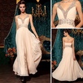 DORISQUEEN new arrival original design gorgeous V-neck fashion Celebrity Dresses 30798(China (Mainland))