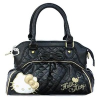 hello kitty totes hand bags bowknot black bags hellokitty handbags black bags kitty for Girl's purse Christmas gift 9031 BKT228