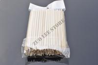 100pcs x 11.2cm Orange Wood Sticks Nail Art Care Salon Cuticle Pusher Remover Manicure Tool + Free Shipping
