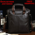 Free shipping genuine leather briefcases bag fashion cowhide hangbags shoulder bags for men messenger bag man business handbag