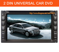 "2012 New 2 Din 6.2"" Car DVD Digital Touch Screen car stereo with GPS Radio Bluetooth ipod am/fm TD635"