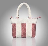 Free Shipping DSB2120701 Women Bags Fashion Lamb Fur Suede PU Leather Aslant Messenger Bag Winter Designer Hand bag Handbag