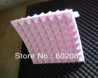 "16pcs Hing Quality Acoustic Pyramid Foam Panels Sponge Purple Color   1.96 ""thickness"