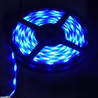 Free Shipping! Waterproof  Blue LED Strip 3528 SMD 150LED 5M Flexible Lamp Light 12V 30LED/M