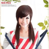 free shipping 1pcs Lengthen fashion false fringe wig fringe hair piece bg010