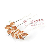 Hair accessory hair accessory comb rhinestone wheel brush 18k full rhinestone hairpin insert comb hairpin