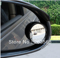 2pcs Auto Blind Spot RearView Driver Wide Angle Round Convex Car Vehicle Mirror Wholesale