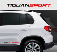 Fashion reflectorised volkswagen tiguan car sports edition refit n-192