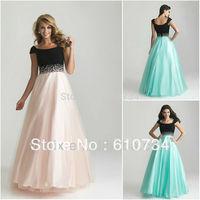 SE0005 Latest Designs Elegant Black Light Pink Arabic Evening Gowns Dresses