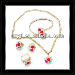 sophia collection jewelry hello kitty sets(China (Mainland))