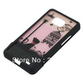 Hot Splited Cat Birdcage Light Hard Case Cover Skin For Samsung Galaxy S2 i9100 Free Shipping