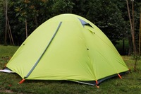 1-2 Person Double Layer Outdoor Camping  hiking Tent Traveling Tents waterproof windproof tents