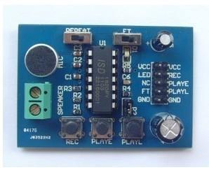 ISD1820 voice module Voice Recording  speech module telediphone module  (microphone) 100% In stock