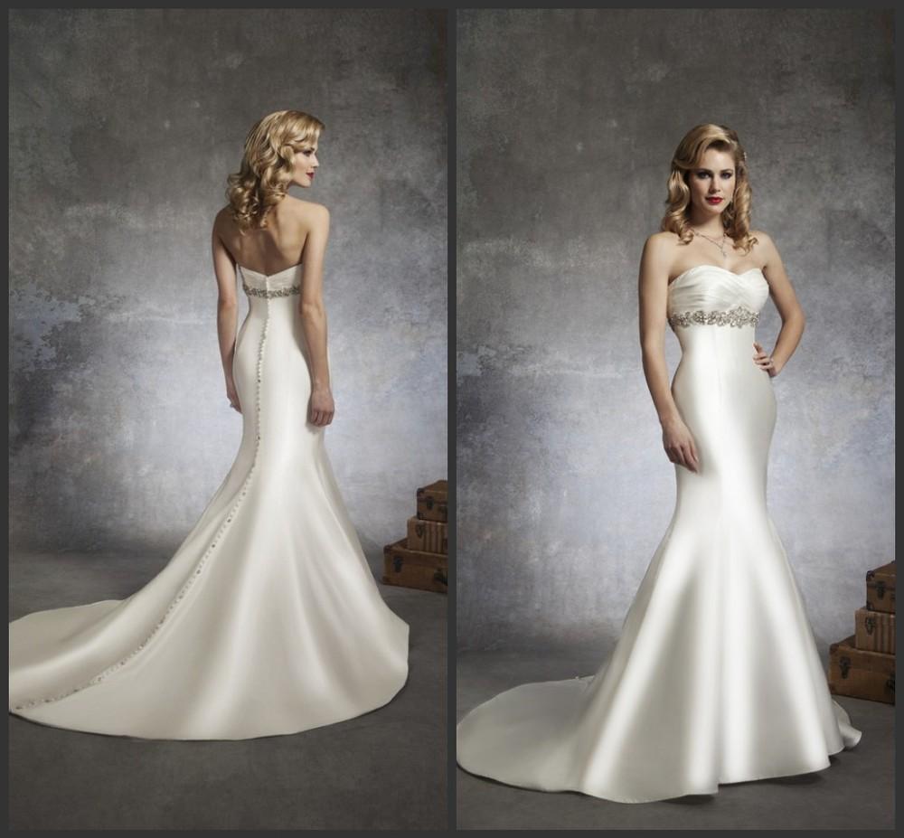 Affordable Mermaid Style Wedding Dresses : Cheap wedding dresses mermaid style short
