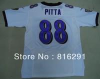Men's New Season New style American football Jersey ELITE 88 Pitta Dennis #88 white color home jerseys