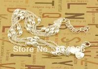 Free  shipping   925 sterling silver jewelry bracelet jewelry fashion female