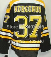 Can mix order, wholesale Bruins #37 Patrice Bergeron black hockey jerseys