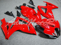 Fairing Fit GSXR600 750 06-07 GSXR750 06 07 GSXR 600 2006 2007 2006-2007 K6 Red Injection Mold Kit S6638