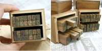 free shipping Wooden Stamps AlPhaBet and letters seal uppercase lowercase wooden stamp set/28 pcs antique stamp one set price