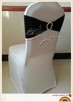 free shipping black spandex band for weddings
