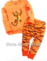 2013 New Style Baby Pajamas Set Baby Pyjamas Children Pyjamas Children Long Sleeve Sleepwear 6sets/lot