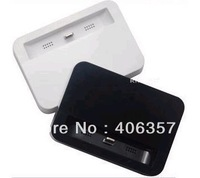 High quality Dock Cradle Charger Station for IPHONE 5 5G with retail backage free shipping 30pcs/lot