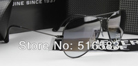 TOP QUALITY 2012 NEW BRAND IN BOX 100% AUTHENTIC SUNGLASSES GRADIENT GRAY GLASS LENS 58mm 62mm FOR MEN'S WOMEN'S BLACK FRAME AAA
