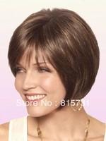 Layered Bob Human Hair Lace Front Wig