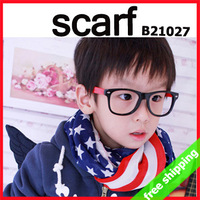FREE SHIPPING parent-child scarf shawl wrap kid fashion chiffon five-pointed star accessory gift 160X70CM 10pc/lot say hi B21027