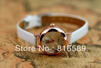 Наручные часы Fashion quartz ladies' watch leather women wrist watch Antique Rome watch 62499