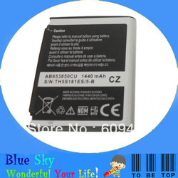 Excellent quality lower price Rechargeable batteries AB653850CU For Samsung I6500 I9008 I9020 I9023 Nexus S(China (Mainland))