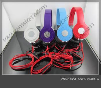 MINI HD headphones With Mic   mini studio  in box   free shipping