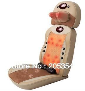 Multi-function Massage Cushion, Neck +Back +Waist +Hips Massage, Body Massage , Infrared +Magnetic Therapy Function,Massage Seat