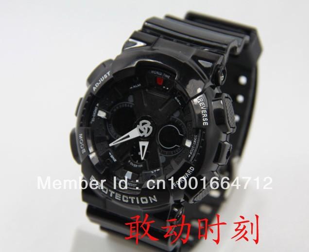 Newest Latest modelled watch,GA110 sports digital ga120 watch,2012 fashion outdoor for teenager men free shipping