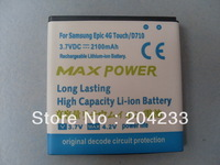 High quality 2100mAh Battery for Samsung Epic Touch 4G D710 ,Free Shipping 100pcs/lot