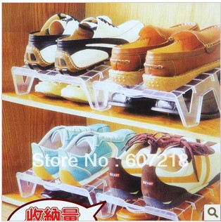Upset plastic Osaka city shoe rack multi-function shoe rack supporter K0639 single loading