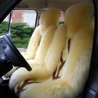 Car seat cushion winter pure wool cushion four seasons general plush cushion car seat