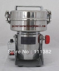 600g Herb grinder/pulverizer machine/food mill/grinder machine/110V(China (Mainland))