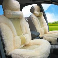 Cushion winter plush car seat cushion seat winter mat pulvinis auto supplies