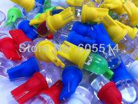 [Seven Neon]Free shipping 250pcs T10 led car light bulb,car dashboard light,interior light