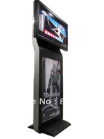 Floor Standing Double LCD Digital Advertising Screen