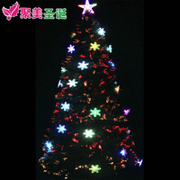 Christmas gift Christmas decoration 150cm deluxe fiber optic christmas tree 1.5 meters christmas decoration tree christmas gift