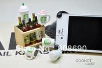Cute Starbucks Coffee Mark Cup Dust Plug 3.5mm Smart Phone Dust Stopper Earphone Cap  for iPhone 4 4S 5 HTC Samsung