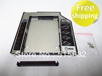 2nd Caddy For Apple Macbook Pro A1278 A1286 A1297 SATA HDD to ODD DVD RW BOX Caddy 9.5mm
