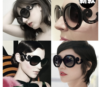 Retro-inspired Women Butterfly Clouds Arms Semi Round Sunglasses New 12Pieces/lot 4 Colorful choses