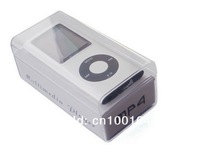 Free shipping Christmas present 30pcs Portable 4th Gen MP3 MP4 Player 8GB with earphone, USB cable and retail box