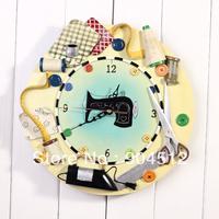 Новые прибытия двухсторонней боковой висит Европейский классический железа процесс творчества настенные часы